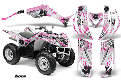 ATV Decal Graphic Kit Quad Sticker Wrap For Yamaha Wolverine 450 2006-2012 LUNA PINK