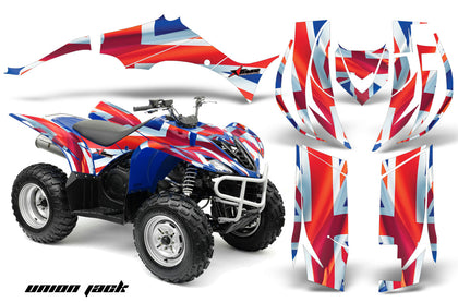 ATV Decal Graphic Kit Quad Sticker Wrap For Yamaha Wolverine 450 2006-2012 UNION JACK