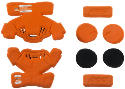 POD K1 KNEE BRACE PAD SET ORANGE YM (LEFT) KP410-009-YM