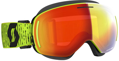 SCOTT LCG EVO SNOWCROSS GOGGLE YELLOW ENHANCER RED CHROME 272845-0005312