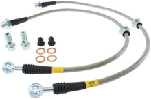 Load image into Gallery viewer, StopTech 00-06 Nissan Sentra SE-R Stainless Steel Rear Brake Lines