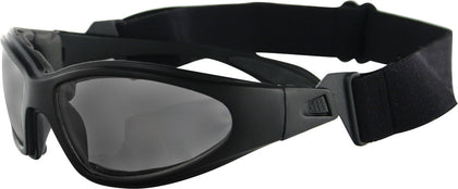 BOBSTER GXR SUNGLASSES BLACK W/SMOKE LENS GXR001