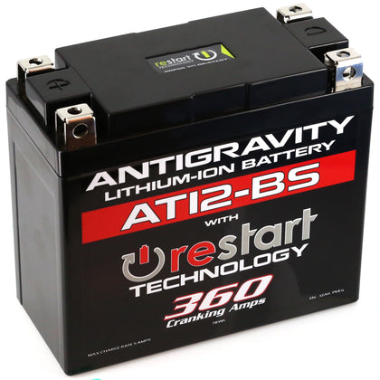 ANTIGRAVITY LITHIUM BATTERY AT12BS-RS 360 CA AG-AT12BS-RS