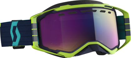 SCOTT PROSPECT SNWCRS GOGGLE BL/YLW ENHANCER TEAL CHROME 272846-1054315