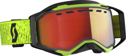 SCOTT PROSPECT SNWCRS GOGGLE BLK/YLW LIGHT SENSITIVE RED CHROME 272846-1040341