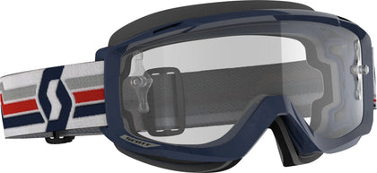 SCOTT SPLIT OTG GOGGLE BLUE/WHITE CLEAR WORKS 272834-1006113