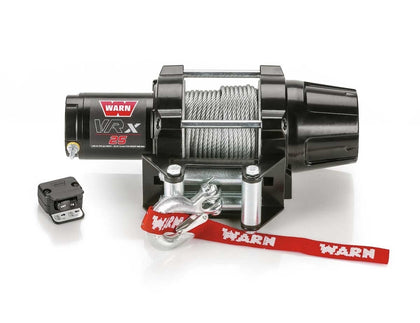 ATV Fourwheeler Winch Kit For Polaris Scrambler 1000 2014-18 WARN VRX-25 Winch Ready To Install Kit With Mount Plate