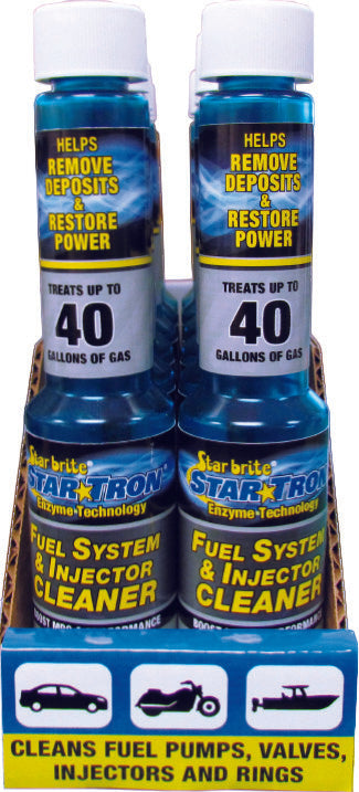 STAR BRITE FUEL SYSTEM CLEANER 4OZ 12 PACK W/DISPLAY 096699