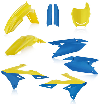 ACERBIS FULL PLASTIC KIT YELLOW/BLUE 2686551300
