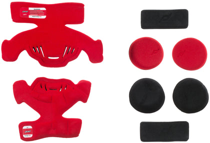 POD K700 KNEE BRACE PAD SET RED (LEFT) KP470-003-OS