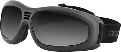 BOBSTER TOURING II SUNGLASSES BLACK W/SMOKE LENS BT2001-atv motorcycle utv parts accessories gear helmets jackets gloves pantsAll Terrain Depot