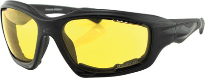 BOBSTER DESPERADO SUNGLASSES W/YELLOW LENS EDES001Y-atv motorcycle utv parts accessories gear helmets jackets gloves pantsAll Terrain Depot