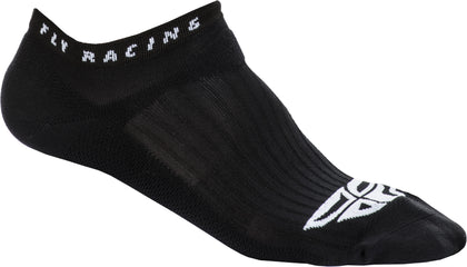 FLY RACING FLY NO SHOW SOCKS BLACK SM/MD SPX009489-A1