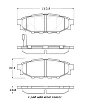 Load image into Gallery viewer, StopTech Street Touring 08-10 WRX Rear Brake Pads
