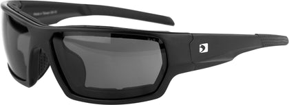 BOBSTER TREAD SUNGLASSES MATTE BLACK W/SMOKED LENS REMOVABLE FOAM BTRE001