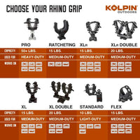 RHINO GRIP XLR DOUBLE - PAIR