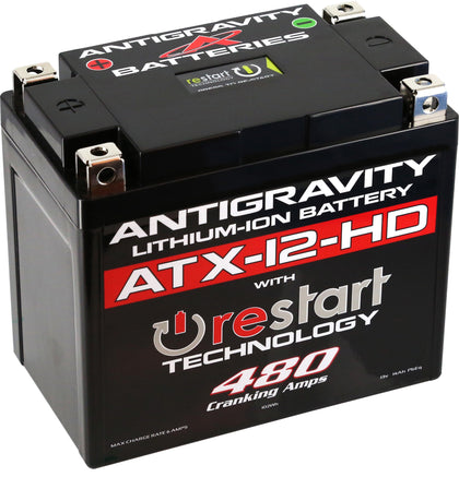 ANTIGRAVITY LITHIUM BATTERY ATX12-HD-RS 480 CA AG-ATX12-HD-RS
