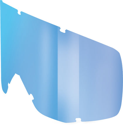 SCOTT HUSTLE/TYRANT/SPLIT GOGGLE WORKS LENS (BLUE CHROME) 218814-282