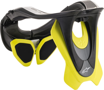ALPINESTARS BIONIC NECK SUPPORT BLACK/YELLOW LG-XL 6500019-155-LG/XL