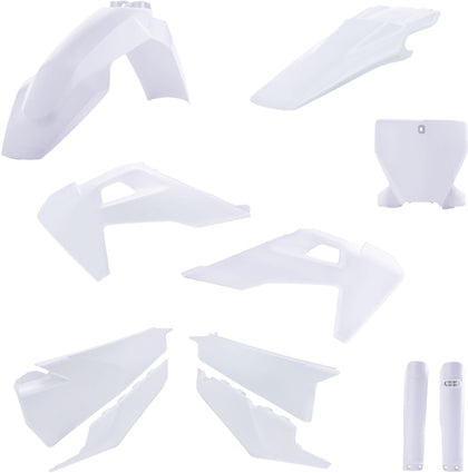 ACERBIS FULL PLASTIC KIT WHITE 2726556811