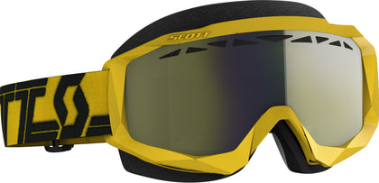 SCOTT HUSTLE X SNWCRS GOGGLE YLW/BLK ENHANCER YELLOW CHROME 274515-1017335
