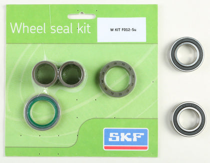 SKF WHEEL SEAL KIT W/BEARINGS FRONT WSB-KIT-F012-SU