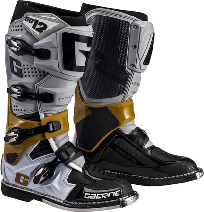 GAERNE SG-12 BOOTS GREY/YELLOW FLUO/ BLACK SZ 10 2174-079-10