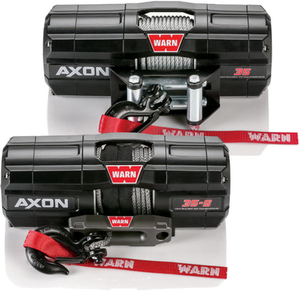 WARN AXON 3500 SYN ROPE WINCH 101130