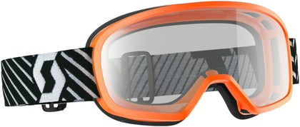 BUZZ MX GOGGLE ORANGE W/CLEAR