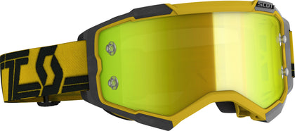 SCOTT FURY GOGGLE YELLOW/BLACK YELLOW CHROME WORKS 272828-1017289