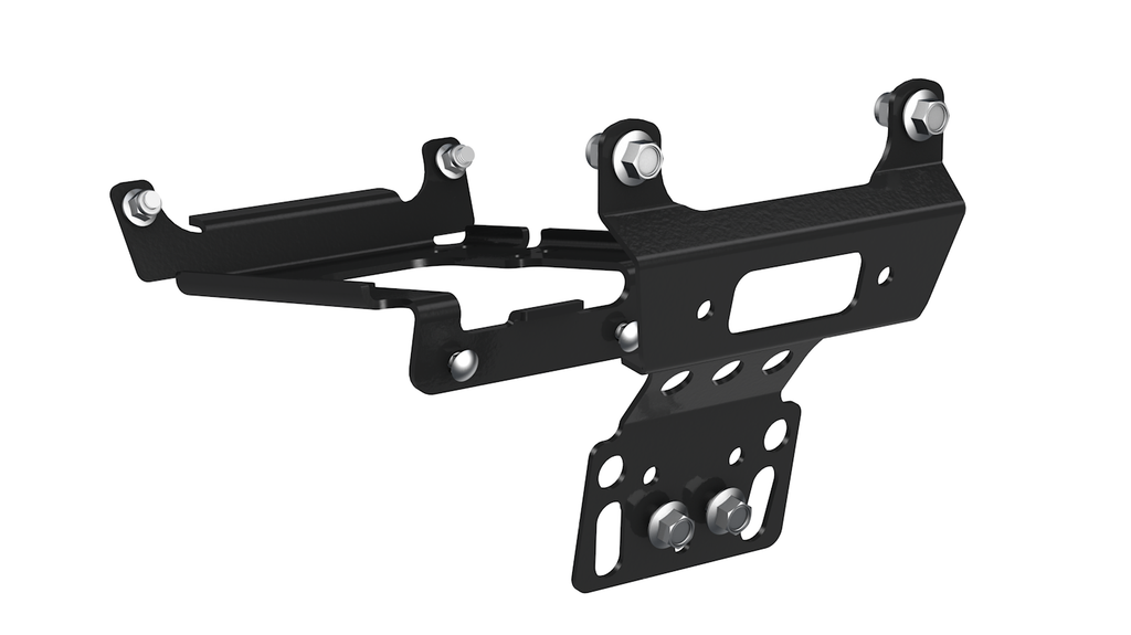 POLARIS RZR WINCH MOUNT KIT 900/1000 & GENERAL - Allterraindepot