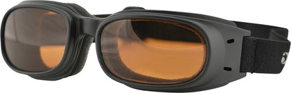 BOBSTER PISTON SUNGLASSES W/AMBER LENS BPIS01A-atv motorcycle utv parts accessories gear helmets jackets gloves pantsAll Terrain Depot