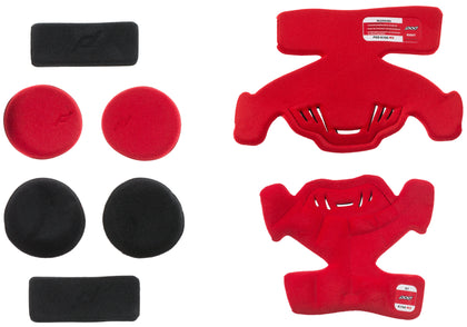 POD K700 KNEE BRACE PAD SET RED (RIGHT) KP471-003-OS