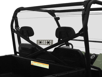 SPIKE REAR WINDSHIELD W/VENT POL 77-8210V-R