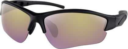 BOBSTER RAPID SUNGLASSES MATTE BLACK W/PURPLE HD/YELLOW MIRROR BRAP001H