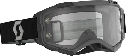 SCOTT FURY GOGGLE BLACK/GREY CLEAR WORKS LENS 274514-1001113