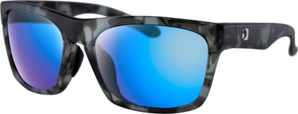 BOBSTER ROUTE SUNGLASSES MT GRY TORT W/PUR HD/LIGHT BLUE REVO MIR BROU003H