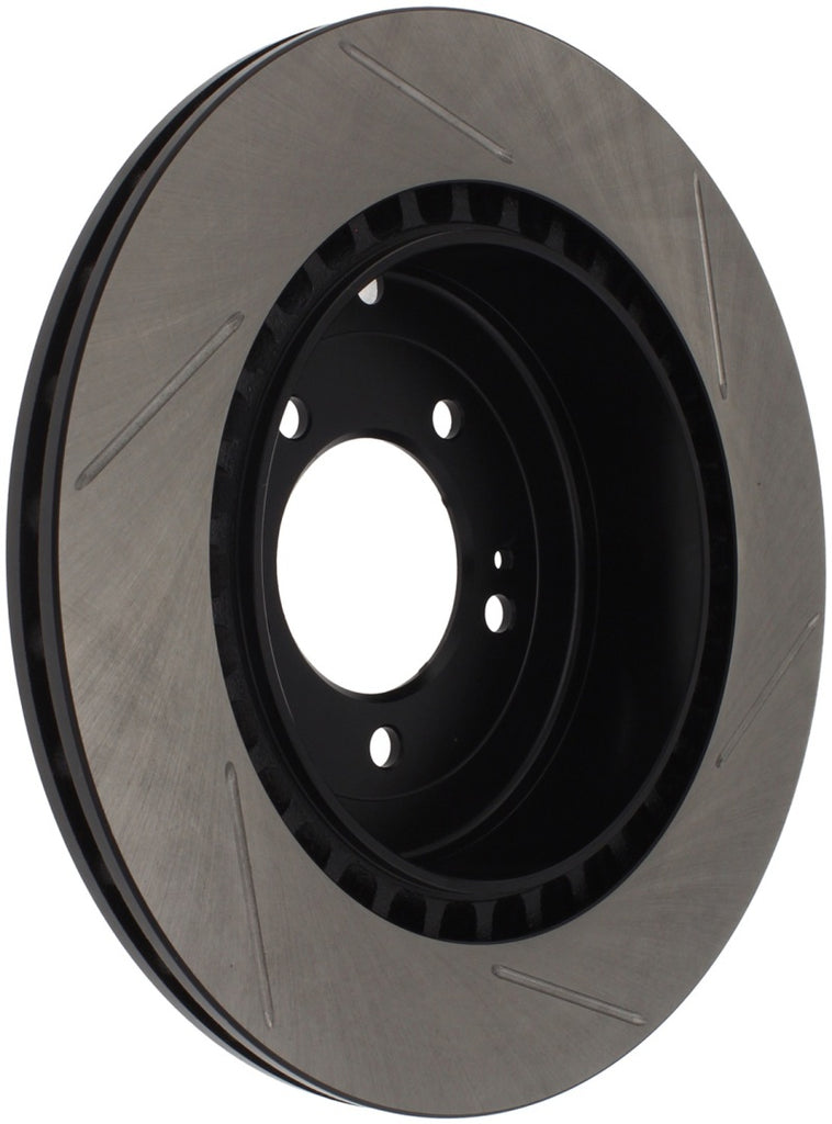 StopTech Power Slot 08-09 Evo 10 Slotted Right Rear Rotor