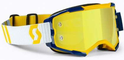 SCOTT FURY GOGGLE YELLOW/BLUE YELLOW CHROME WORKS 272828-1300289