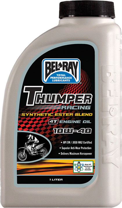 BEL-RAY THUMPER SYNTHETIC ESTER BLEND 4T ENGINE OIL 10W-40 1L 99520-B1LW