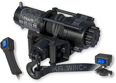 KFI SE35 Stealth 3500 lb ATV UTV Winch Kit