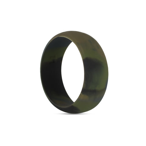 Men's Camo Silicone Ring