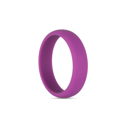 Women's Purple Silicone Ring