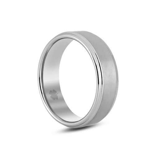 "Image of ""Smith"" Tungsten Carbide Ring Tungsten Lucky Rings"