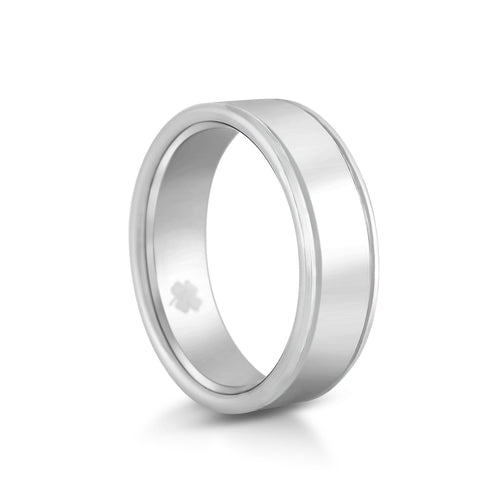 "Image of ""O'Donnell"" Tungsten Carbide Ring Tungsten Lucky Rings"
