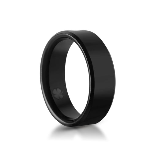 "Image of ""Grady"" Tungsten Carbide Ring Tungsten Lucky Rings"