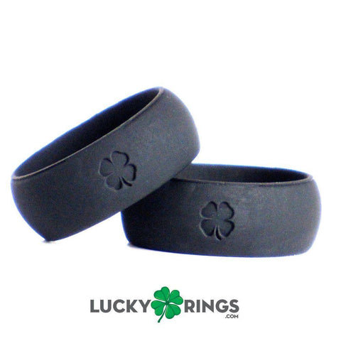 Image of Signature Jet Black Silicone Ring Silicone Lucky Rings