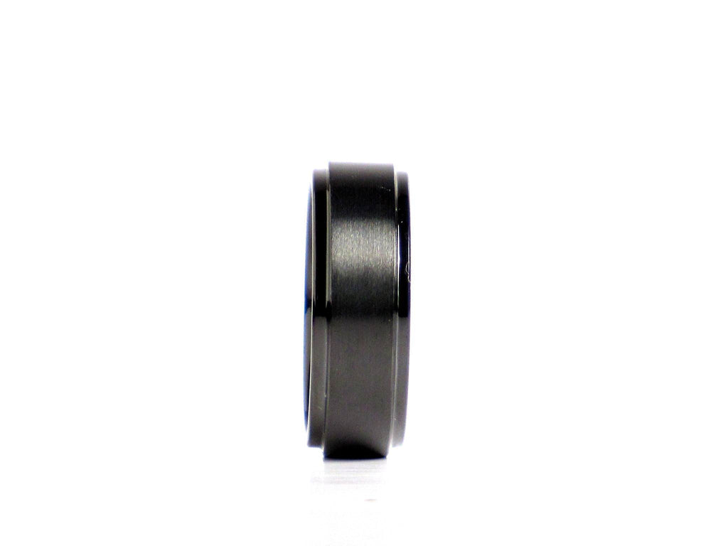 """Lawless"" Tungsten Carbide Ring Tungsten Lucky Rings"
