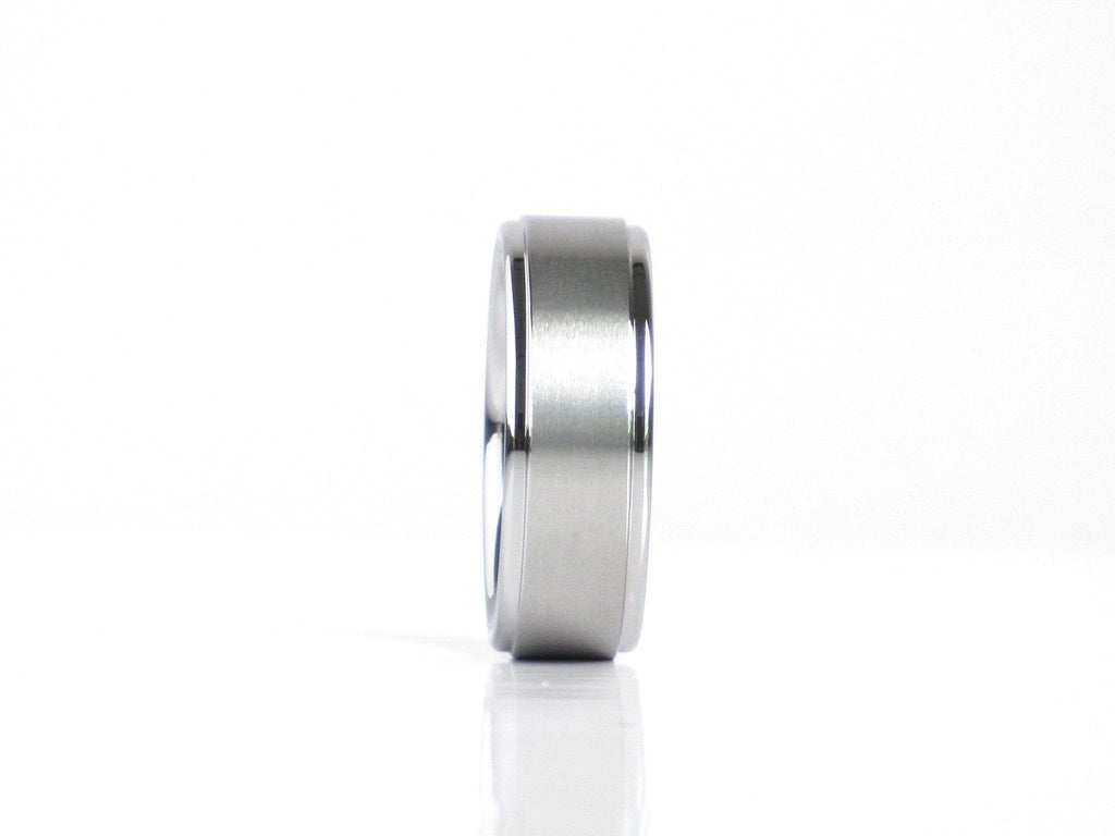 """Smith"" Tungsten Carbide Ring Tungsten Lucky Rings"