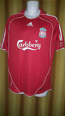 9c4bbaf4a 2006-08 Liverpool Home Shirt Size Medium - Torres  9 - Forever Football  Shirts